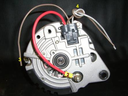 Easy alternator on wiring alternator diagram