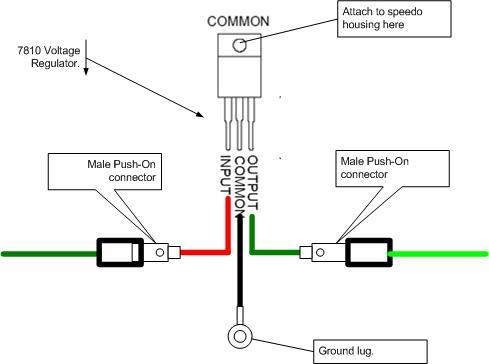 V Reg on Classic Mini Cooper Wiring Diagram